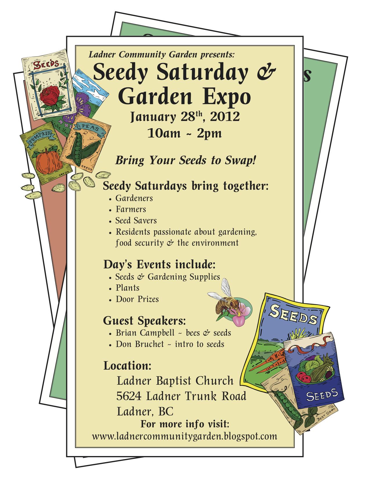 Seedy Saturday Ladner