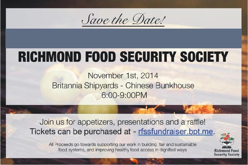 RFSS Fall Fundraiser